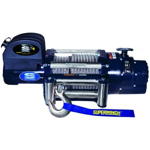 SUPERWINCH-TALON 14 24 V, siła uciągu 6350 kg, dł.liny 27,43 m